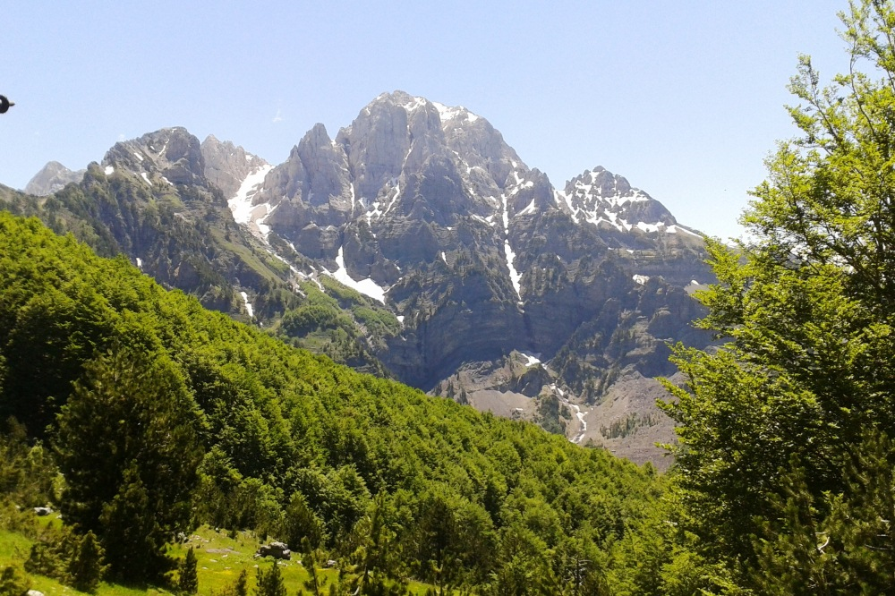 prokletije, theth- valbona, peaks of the balkans