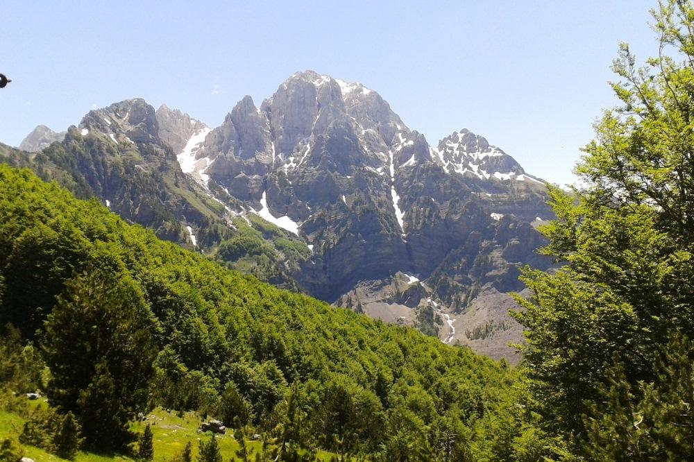 prokletije, theth- valbona, peaks of the balkans