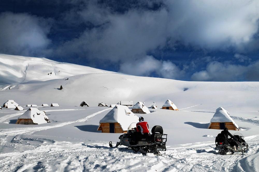 winter activities montenegro
