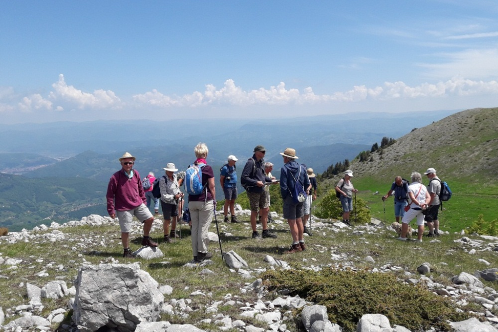 hiking Hajla